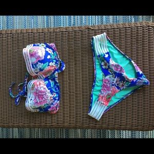 Shade and shore flower bikini